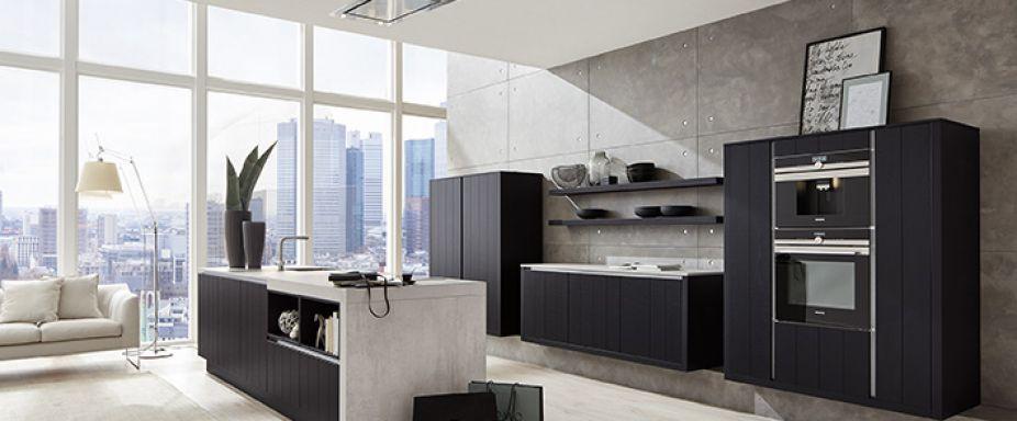 Dreco keukens   av6021 eiken zwart